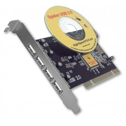 Carte PCI Spider USB 2.0