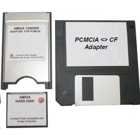 Adaptateur Compact Flash PCMCIA avec carte 4Go