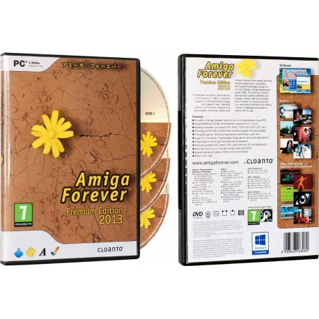 Software Amiga Forever 2013 Premium Edition :