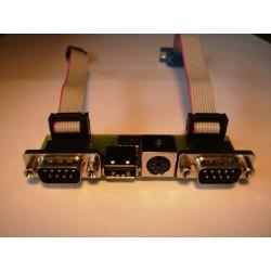 Bracket PS2-USB-2xDB9 Amiga