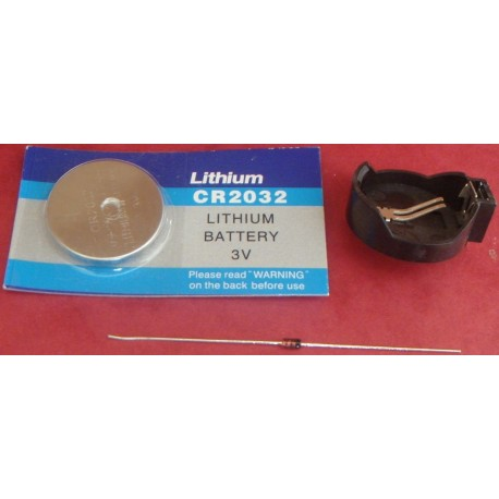 Lihium Battery Kit for Amiga 4000D - Amiga 2000