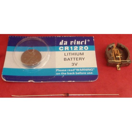 Lihium Battery Kit for Apollo 1240 - 1260 cards