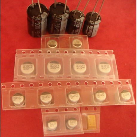 Capacitors Kit for Amiga 1200 rev 2B