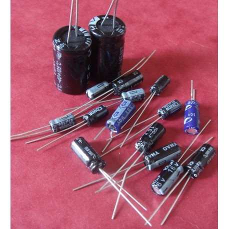Capacitors Kit for Amiga 500 rev 5