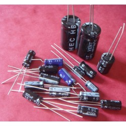 Capacitors Kit for Amiga 500 rev 6A