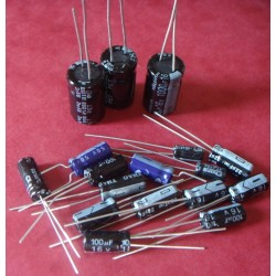 Capacitors Kit for Amiga 500 plus rev 8A