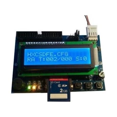 Lecteur SD HxC LCD Display Rev C