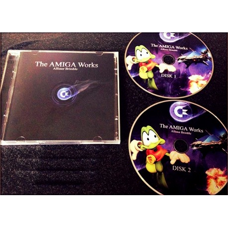 Compilation CD Audio Amiga The AMIGA Works