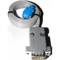 2m DB9 extension cable for Amiga 600