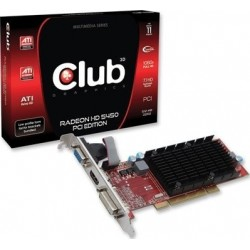 Club3D Radeon HD5450 512Mo PCI