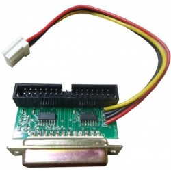 Adaptateur Floppy Ext. DB23 avec alimentation