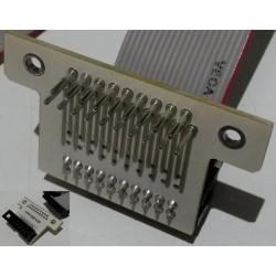Adaptateur Atari DB19-ACSI avec nappe
