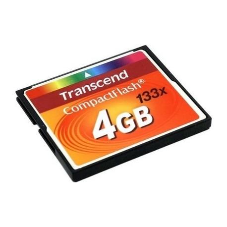 Compact Flash Memory card 4GB Transcend 133x