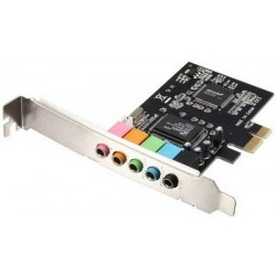 CMI8738 PCI Express x1 Sound Card