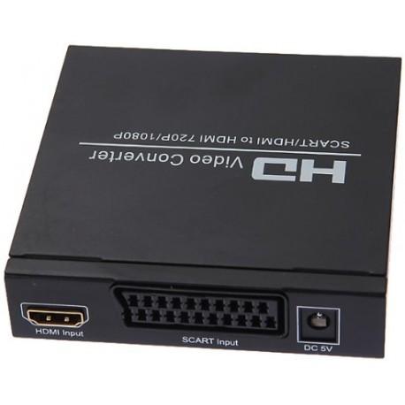 Scart - HDMi to HDMi converter