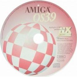 Amiga OS 3.9 CDRom software 68k
