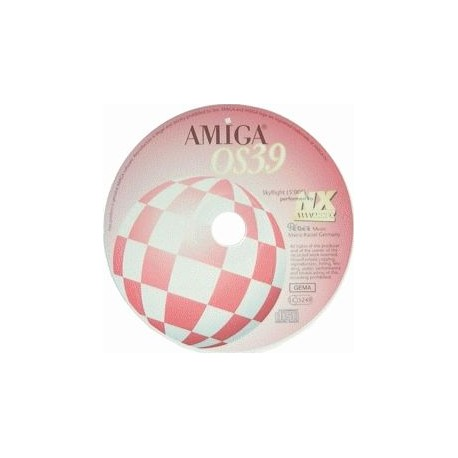 Logiciel Amiga OS 3.9 CDRom 68k