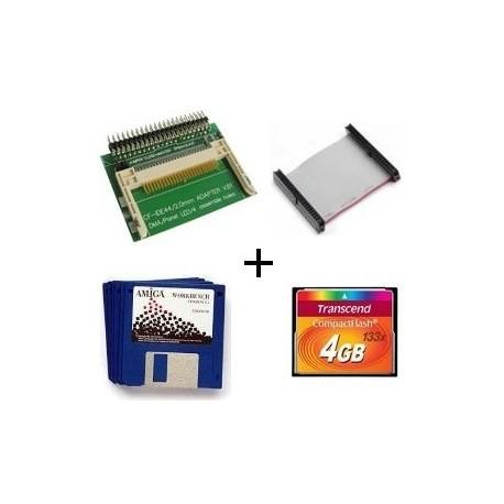 IDE-CF Adapter - 4 GB CF - WB 3.1