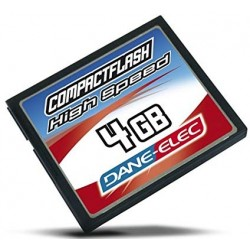 Dane Elec 4GB Compact Flash memory card
