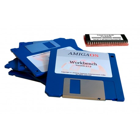 Kit Workbench et Kickstart 3.1.4 pour Amiga Classic