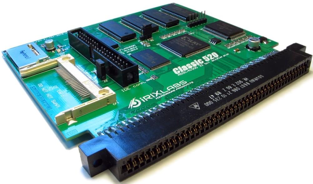 Amiga 500 / Amiga 1000 Classic 520 accelerator card - Amedia