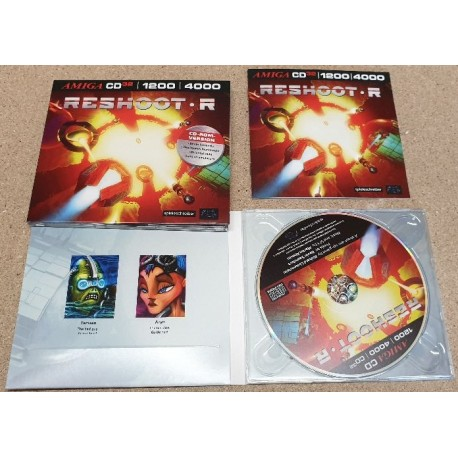 Amiga AGA Game Reshoot R Pure Edition Amiga 1200 / 4000 / CD32