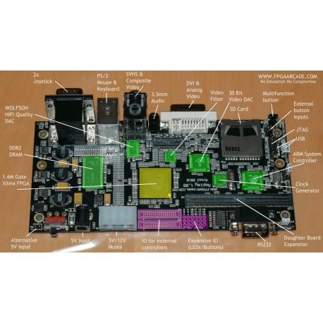 Carte FPGA Arcade board