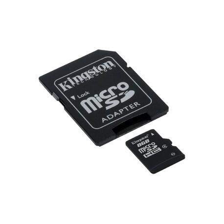 Carte mémoire 8Go MicroSD Cl10