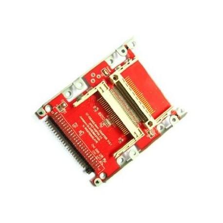 Adaptateur IDE 2.5 vers 2 cartes mémoires Compact Flash