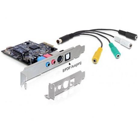 Carte son PCI-E x1 7.1 Low Profile